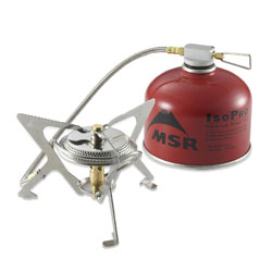 Lightweight Backpacking Stove-MSR Windpro (Fuel sold separately)